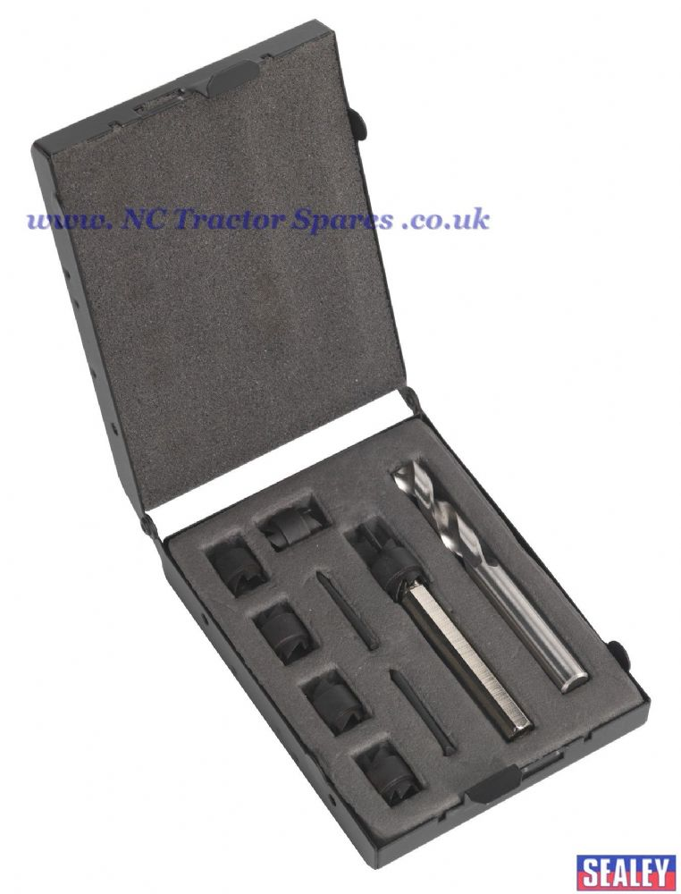 Spot Weld Cutter & Drill Set 9pc 10mm
